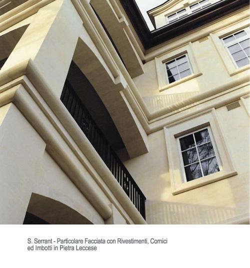 Cornici per ville case edifici pubblici pietra leccese e carparo - Cornici finestre in pietra ...