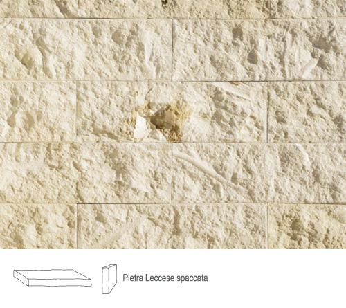 mattoncini in pietra leccese per camino : preview