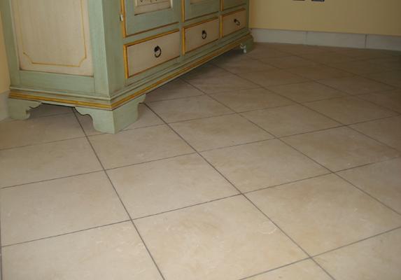 della pietra leccese permette la creazione di caldi pavimenti interni ...